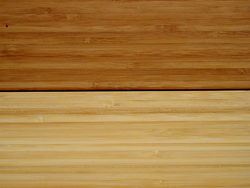Vertical Cut Bamboo Natural And Carbonized 6 Foot