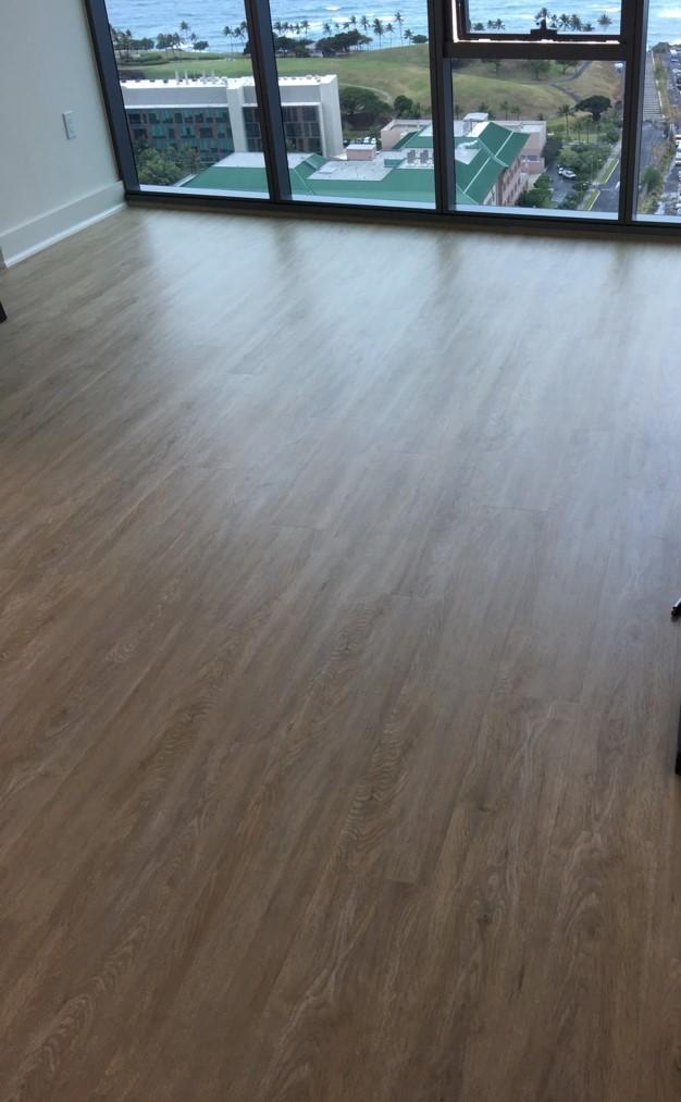 Molokai Style Wpc Lvt Hawaiian Style Flooring