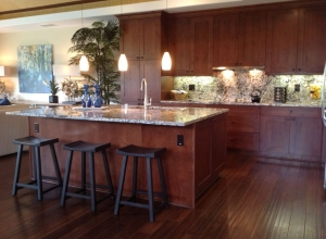 Hand Scraped Kukui Nut Kitchen BFHSKU Compliments of Brookfield Homes