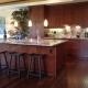 Hand Scraped Kukui Nut Kitchen BFHSKU Compliments of Brookfield Homes
